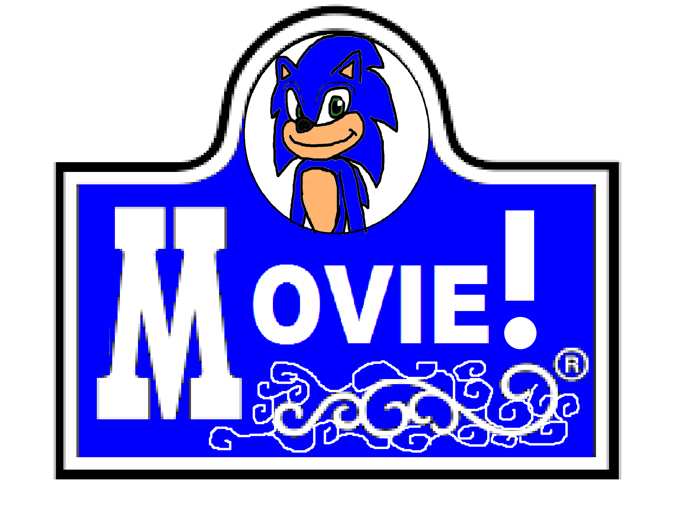 Movie! Sonic as Wendy\'s Logo in 2019.