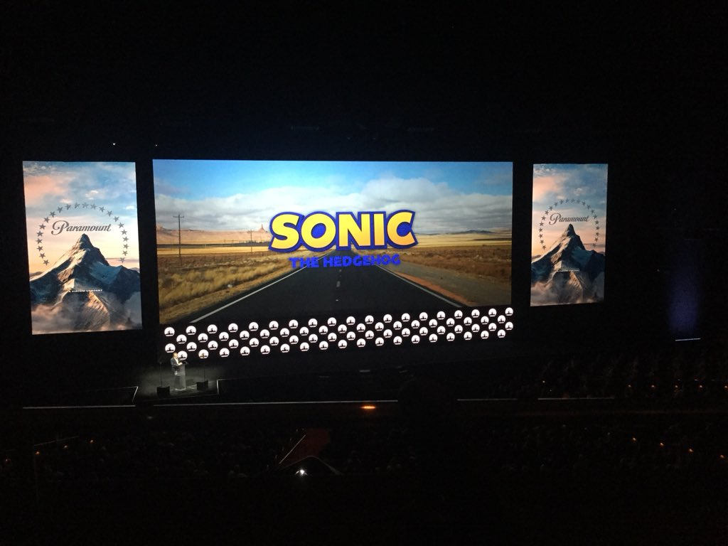 Sonic Movie Logo Revealed.