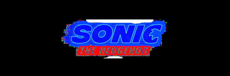Sonic movie logo png : SonicTheHedgehog.