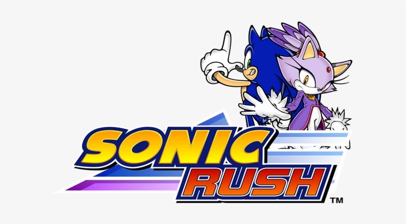 Sonic Rush Logo Transparent PNG.