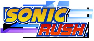 Sonic Rush logo.