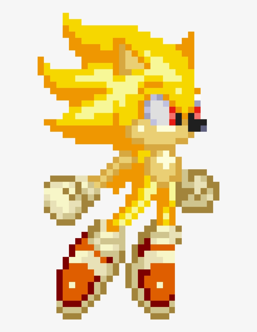 Sonic Sprite Png Clip Art.