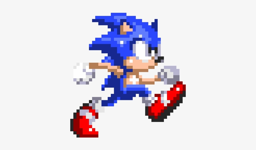 Sonic 3 Sprite Png Clipart Library.