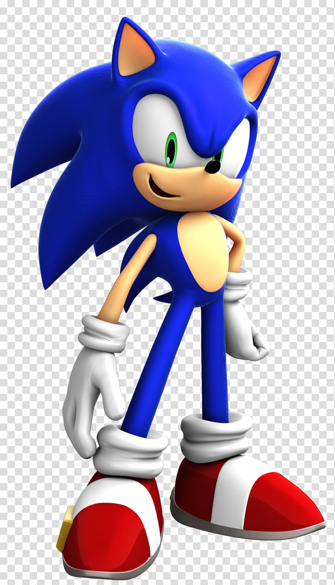 Sonic The Hedgehog,August Render, Sonic Hedgehog transparent.
