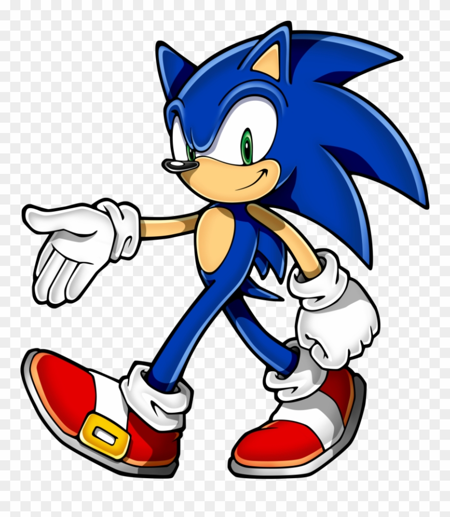 Sonic Clip Art.
