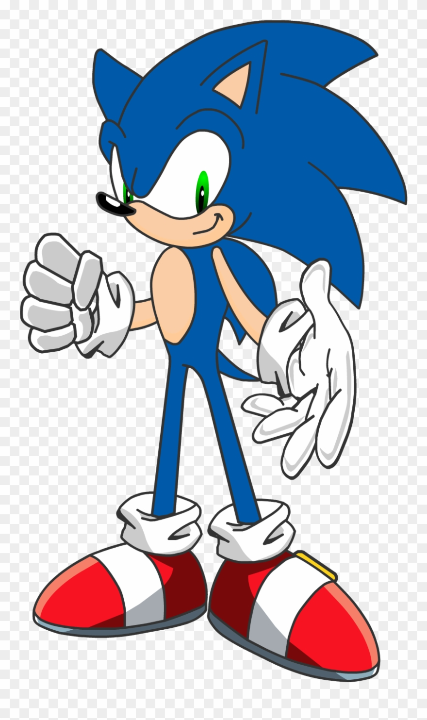 Sonic The Hedgehog Clipart Ring.