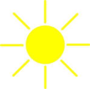 Sun Yellow Clip Art at Clker.com.