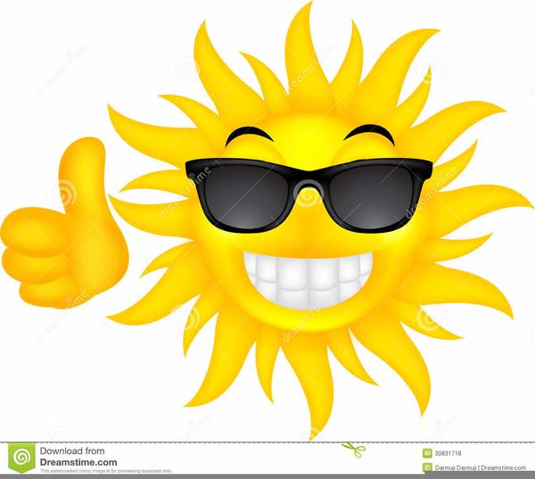 Clipart Sommer Sonne.