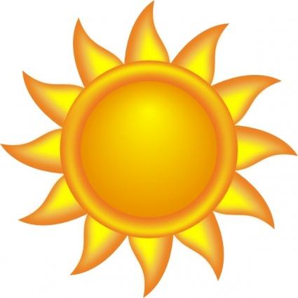 Sonne clipart kostenlos » Clipart Station.