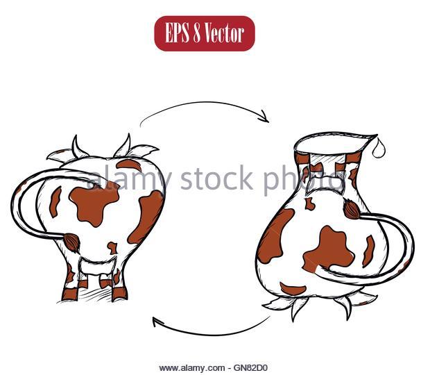 Milk Jug Cow Stock Photos & Milk Jug Cow Stock Images.