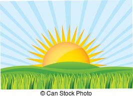 Sonnenaufgang Illustrationen und Clip.