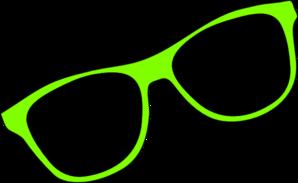 Green Sunglasses Clip Art at Clker.com.