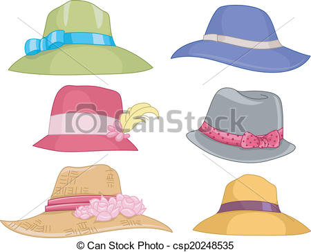 Sunhat Clipart Vector Graphics. 76 Sunhat EPS clip art vector and.