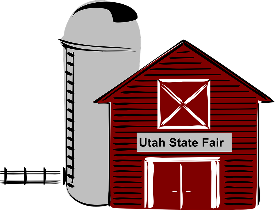 Free vector graphic: Barn, Silo, Rural, Agriculture.