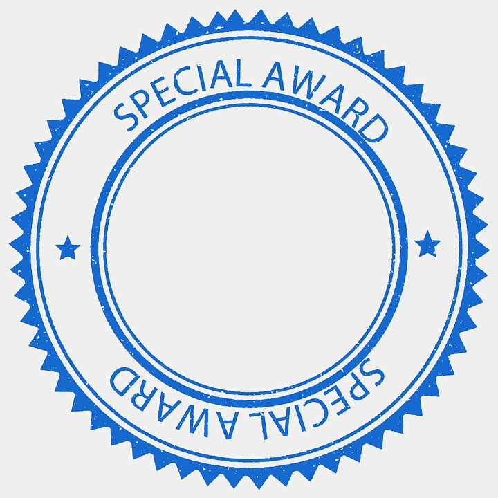 Free illustration: Award, Prize, Stamp, Winner, Reward.