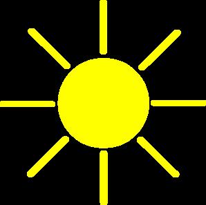Sun Yellow Clip Art at Clker.com.
