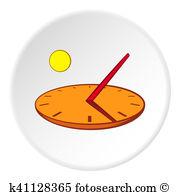 Sonnenuhr Illustrationen und Clip Art. 143 sonnenuhr Lizenzfreie.