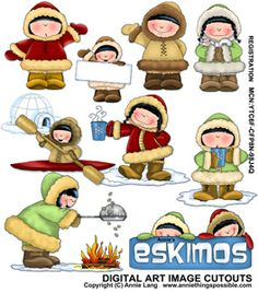 Illustration of a simple cartoon spring or winter wooden little.