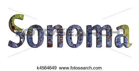 Stock Illustration of Sonoma k4564649.
