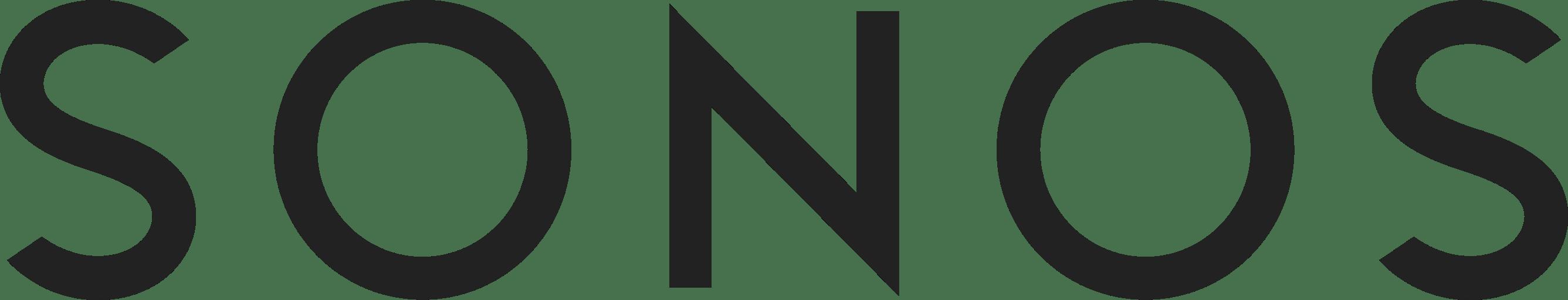 Sonos Logo transparent PNG.