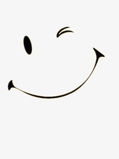 Sonrisa, Expresión, Black, Cartoon Archivo PNG y PSD para.