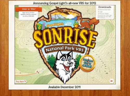 Nims Media » SonRise National Park VBS.