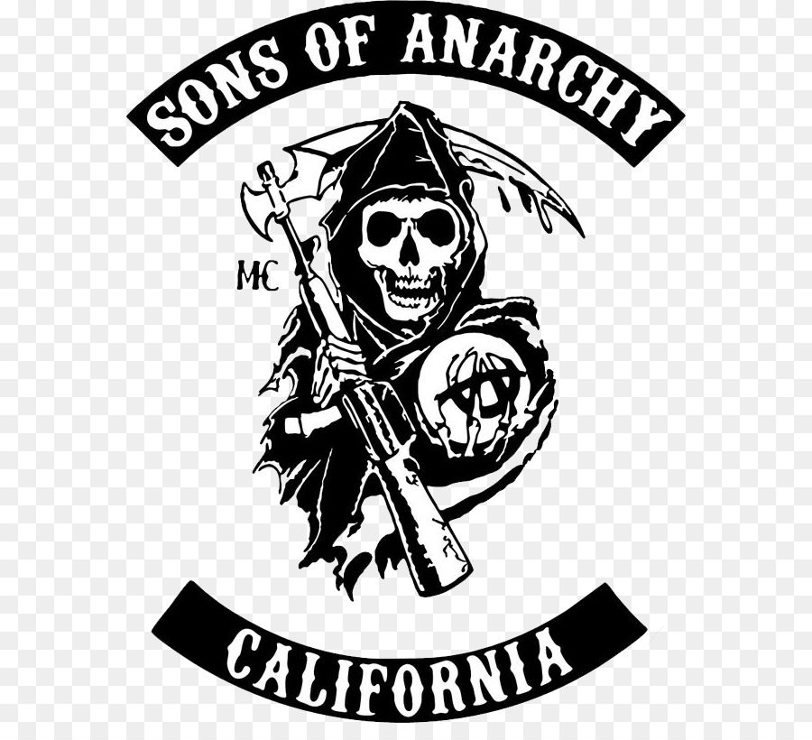 Sons Of Anarchy Logo png download.