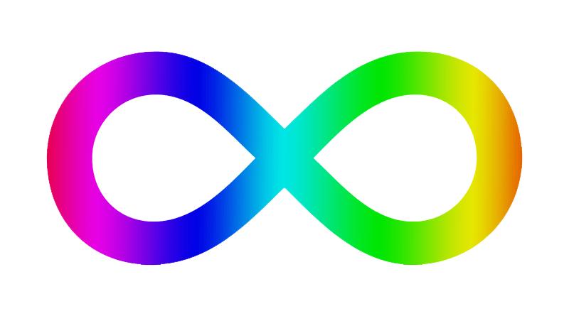 Klavyede sonsuz işareti yapmak (∞).