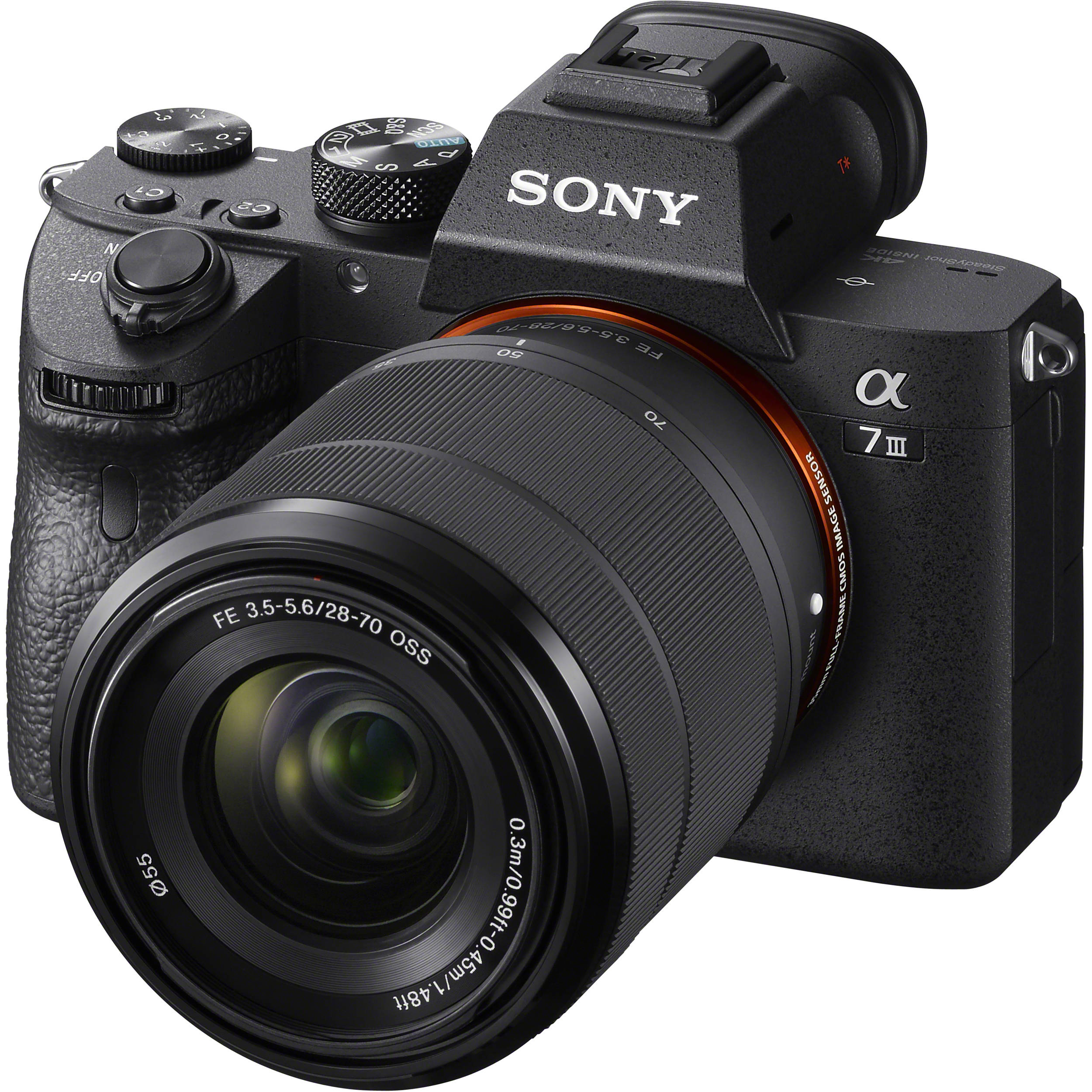 Sony Alpha a7 III Mirrorless Digital Camera with 28.