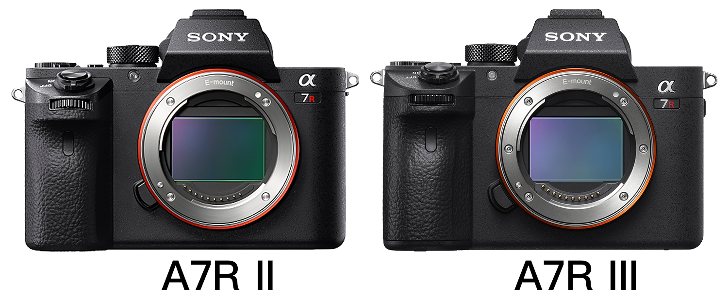 The Sony A7R III vs the Sony A7R II, review..