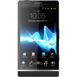 Sony Xperia S Phone Icon, PNG ClipArt Image.