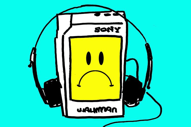 Sony Walkman Clipart.