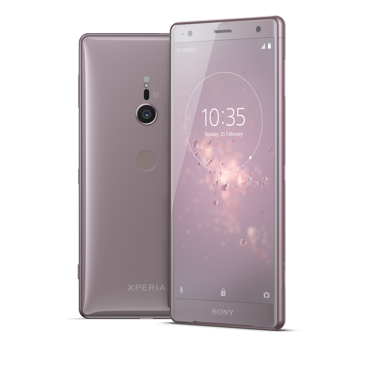 Sony\'s Xperia XZ2 smartphone adds 3D scanning capabilities.