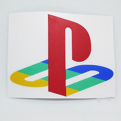Sony Play Station PS Logo Sticker Vinyl Decal NO Video Game or PS3 PS4  Console.