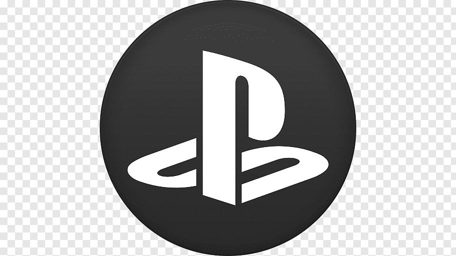 Brand logo circle, Playstation, Sony PS logo free png.