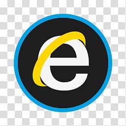Circular Icon Set, Internet Explorer, Internet Explorer logo.