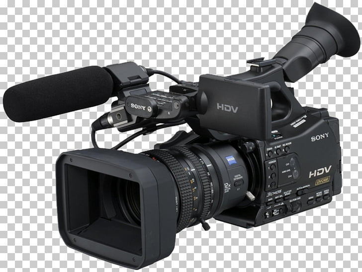 HDV Video Cameras Camcorder, video camera PNG clipart.
