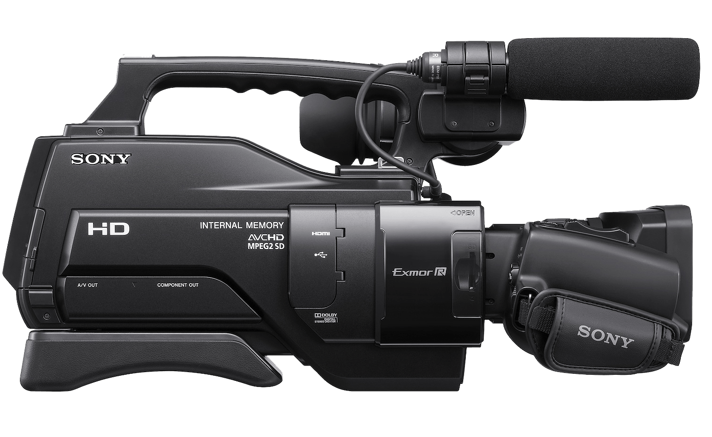 Professional video camera AVCHD Sony.