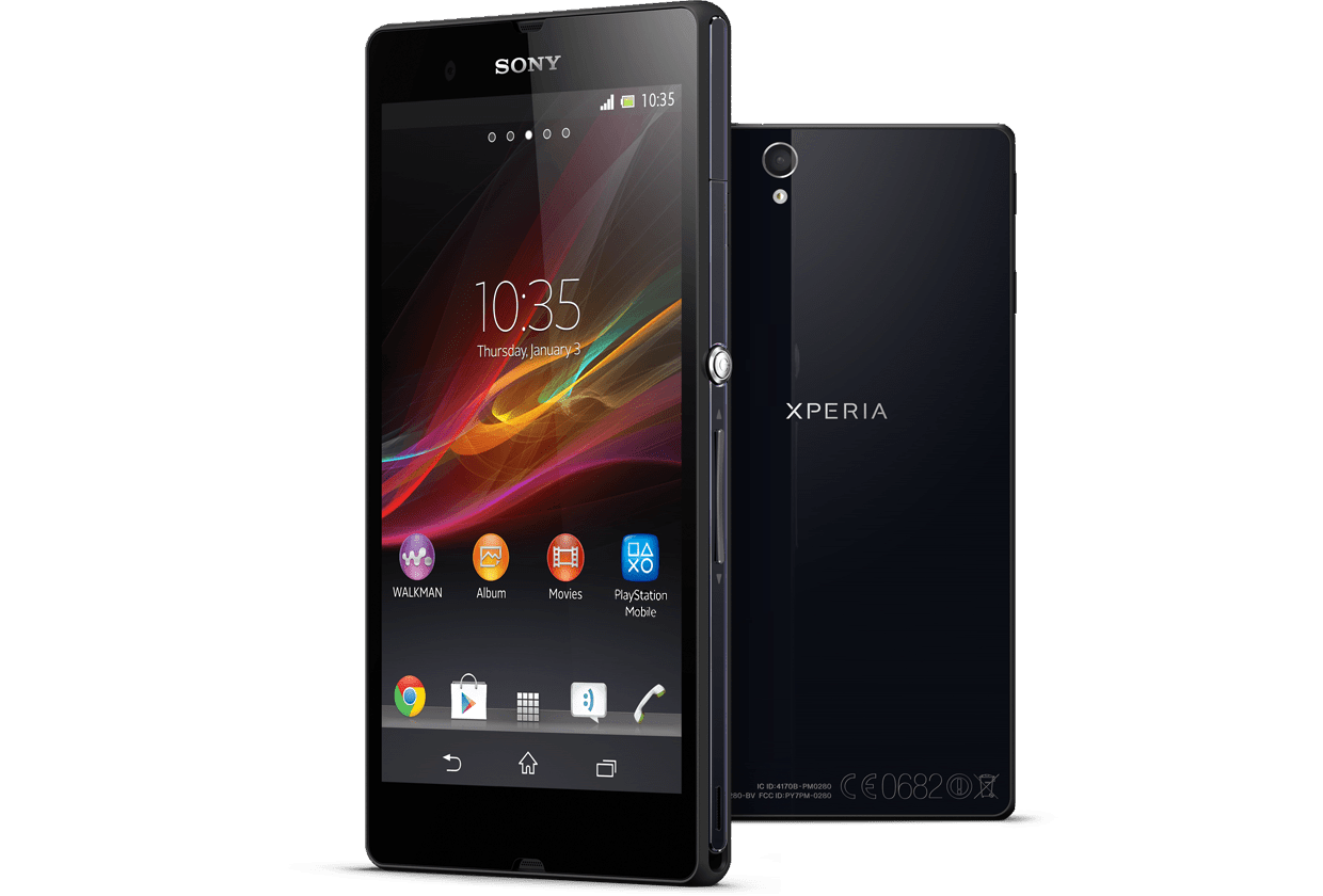 Sony Xperia transparent PNG.