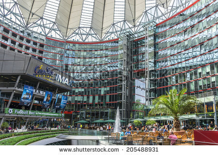 Sony Center Stock Photos, Royalty.
