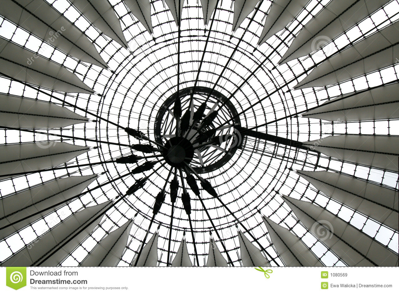 Sony Center Berlin Royalty Free Stock Images.