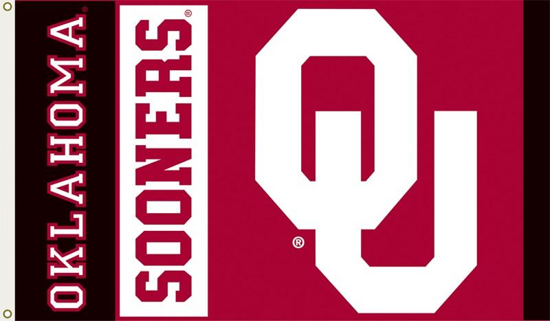 Details about University of Oklahoma Sooners Logo Flag.