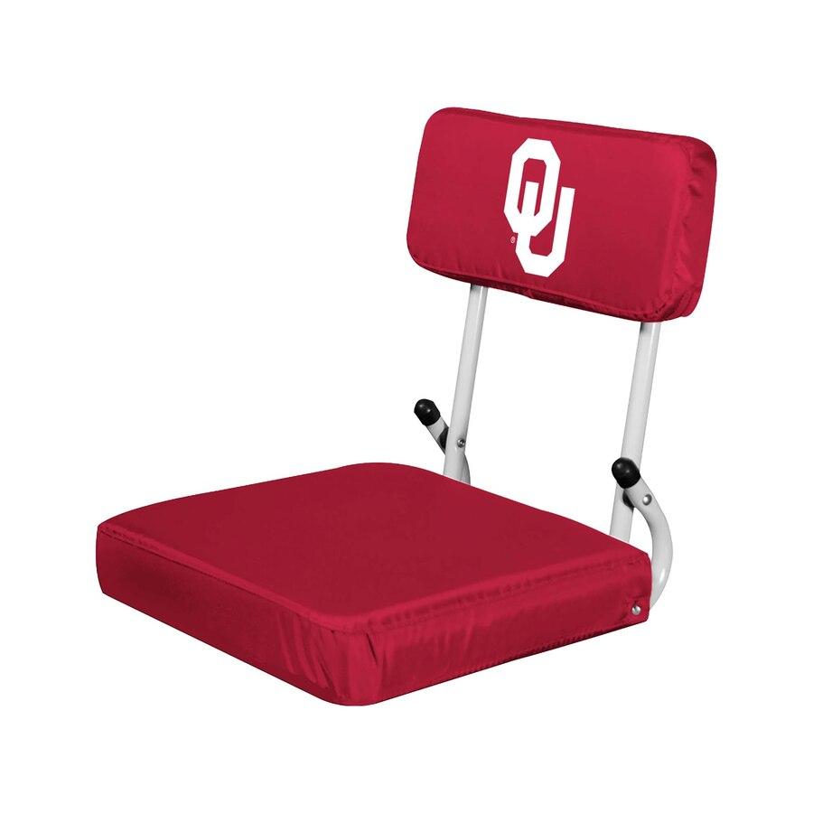 Oklahoma Sooners Logo Hard Back Stadium Seat.