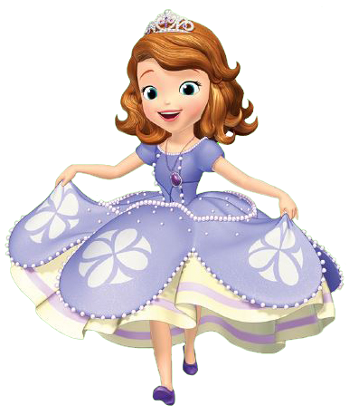 Sophia The First Clipart.