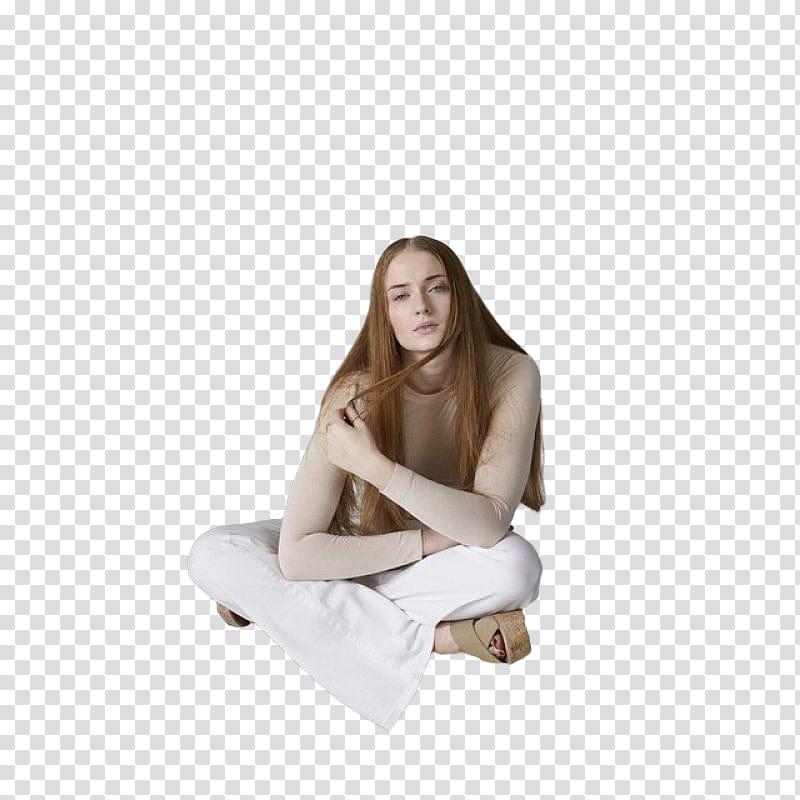 Sophie Turner transparent background PNG clipart.