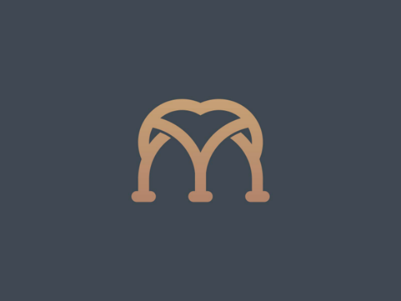 Sophisticated M Logo by Brand Semut on Dribbble.