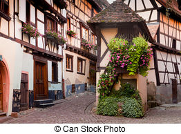 Stock Photography of Crooked House in Sopot.
