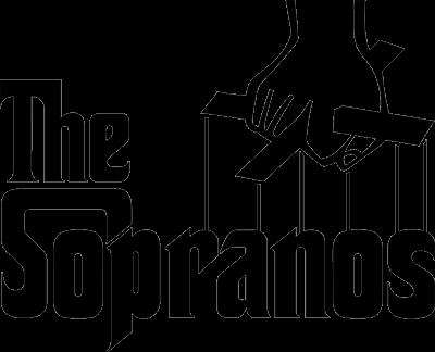 Buy The Sopranos Logo (The Godfather mashup) Tee.