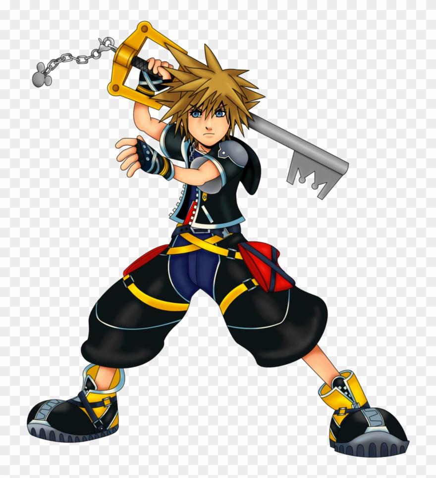 Kingdom Hearts 2 Sora Clipart.