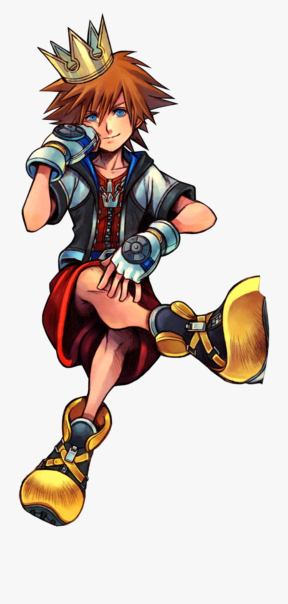 Kingdom Hearts Clipart Heart And Crown.